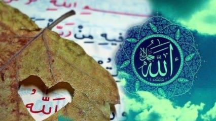 Esmaül Hüsna tesbihatı zikri oku: Allah'ın 99 ismi anlamları ve sırları!