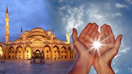 Ezan Duası sözleri - okunuşu   Ezan Duası nasıl yapılır (Arapça - Türkçe)