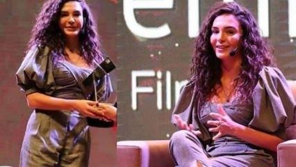 Hercai'nin sevilen oyuncusu Ebru Şahin 5. Altın Baklava Film Festivali'ne katıldı!