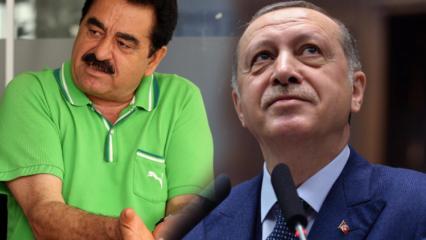 İzmir Bursa yolunu kullanan İbrahim Tatlıses'ten Başkan Erdoğan'a övgü dolu sözler!