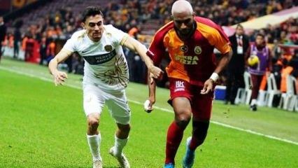 Galatasaray 90+1'de buz kesti!