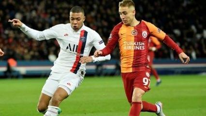 Galatasaray Paris'te fark yedi! Acı veda...