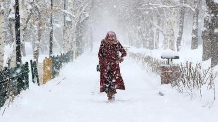 Meteoroloji'den kar uyarısı: Hazırlıklı olun