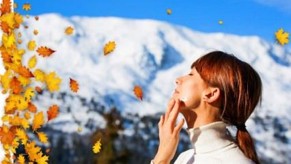 Soğuk havalardan cilt nasıl korunur? Kışın cilt bakımı