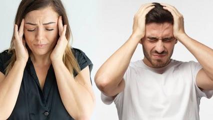 Baş ağrısına ne iyi gelir? Baş ağrısının çeşitleri ve doğal tedavi yöntemleri