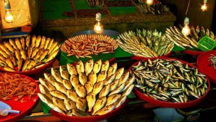 İstanbul'da taze ve ekonomik balığın satış noktaları