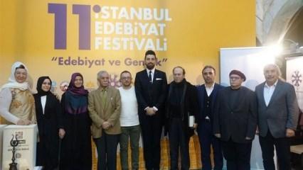 11. İstanbul Edebiyat Festivali büyük ödülleri sahiplerini buldu