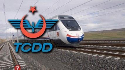 TCDD personel alımı başladı! TCDD personel alımı başvuru şartları!