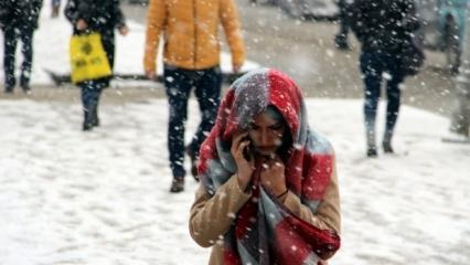 Son dakika: İstanbul için son dakika kar uyarısı geldi