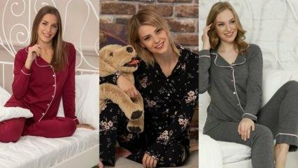 2020 Kadın kışlık pijama takımı modelleri ve fiyatları