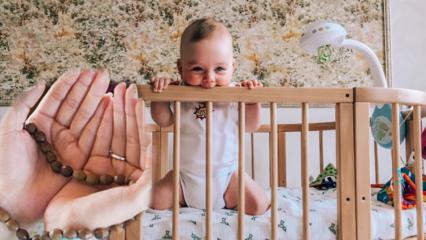 Uyumayan bebeklere okunacak en etkili dualar! Huzursuz bebeklerde rahatlatan dualar