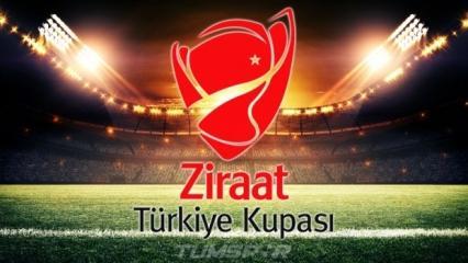 Türkiye Kupası'nda son 16 programı belli oldu