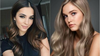 Yeni yılda trend olacak saç renkleri 2020