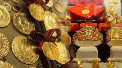 08 Ocak altın fiyatlarında ani yükseliş! Gram altın ve çeyrek altın alış satış ne kadar?