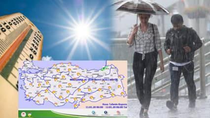 Meteoroloji'den peş peşe son dakika uyarıları: Hava değişiyor