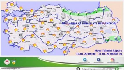 Meteoroloji'den tüm Türkiye için uyarı: İstanbul'da da hava değişiyor