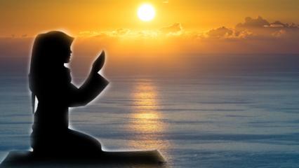 Sabah namazı kaça kadar kılınır? Sabah namazı nasıl kılınır? Sabah namazının faziletleri