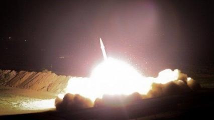 Son dakika: İran saldırıya geçti! ABD'nin Irak'taki üslerini füzeyle vurdu
