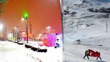 Yıldız Dağı Kayak Merkezi'ne nasıl gidilir? Sivas'ta gezilecek yerler...