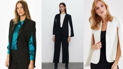 Sezonun trend pelerin ceket modelleri ve fiyatları 2020