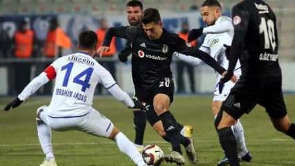 Beşiktaş Erzurum'da 90+1'de dondu!