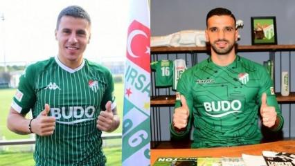 Bursaspor'da çifte transfer