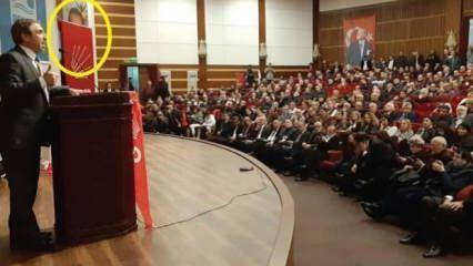 CHP'den milletin iradesine sansür! Erdoğan'ın fotoğrafını kapattılar