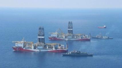 Yavuz gemisi İsrail sınırına geldi! Türkiye'den kritik hamle
