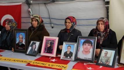 Evlat nöbetindeki ailelerden CHP'ye tepki