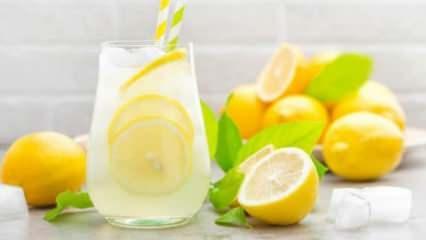 Limon suyunun faydaları nelerdir? Her gün limon suyu içmek neye iyi gelir?