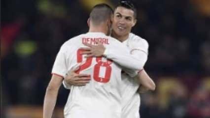 Ronaldo'dan Merih Demiral mesaj! 'Kardeşim...'