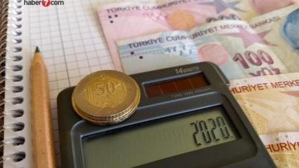 2020 emekli maaşı zam oranları: Maaşlar hesaba yatıyor!