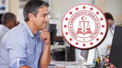 Adalet Bakanlığı 6750 TL maaşla memur alımı! En az 60 KPSS puan şartı arıyor