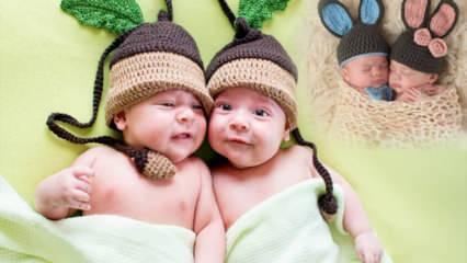 En uyumlu ikiz bebek isim önerileri