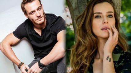 Kerem Bürsin ile İrem Helvacıoğlu ile aynı projede!