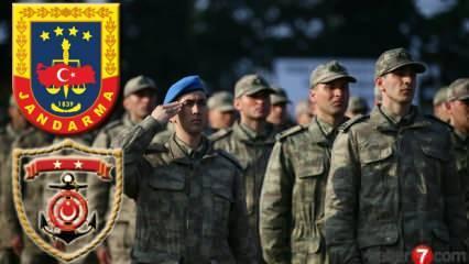 Subay alımı başvuruları devam ediyor! Jandarma 2020 Subay alımı Başvuru şartları