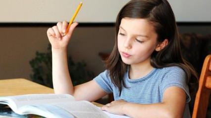 Öğrencilerin dikkatini toplatacak ders çalışma yöntemleri
