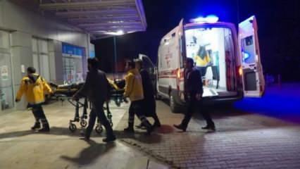 Otomobilin çarptığı at öldü, 2 kişi yaralandı