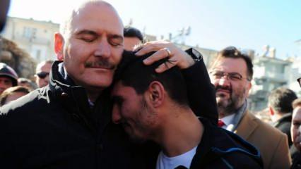 Türkiye'nin konuştuğu Suriyeli genç Mahmud, Bakan Soylu'yla buluştu