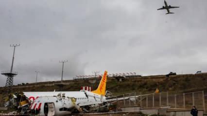 Sabiha Gökçen'deki uçak kazası ile ilgili son dakika gelişmesi!