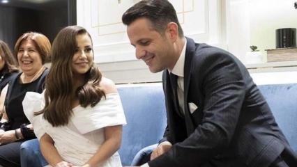 Şarkıcı Merve Özbey'den eşiyle yeni paylaşım!