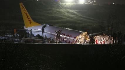 Son dakika haberi: İstanbul'da pistten çıkan uçak üçe bölündü! Acı haberler peş peşe geldi...
