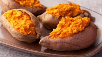 Tatlı patatesin faydaları nelerdir? Tatlı patates suyu ne işe yarar?