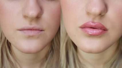 Dudak nasıl dolgunlaştırılır? En basit ve etkili doğal dudak dolgunlaştırma