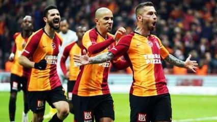 Galatasaray'dan zirveye 'Büyük' adım!