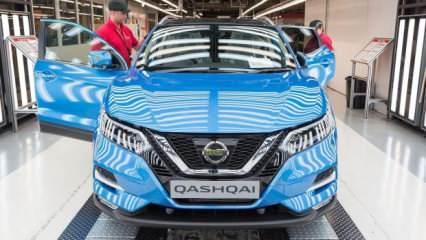 Nissan Japonya'da üretimi durdurdu!