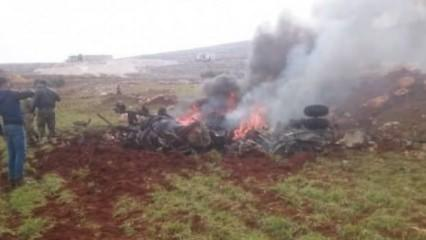 Suriye'de tansiyon yine fırladı! Helikopterler arka arkaya düşürüldü