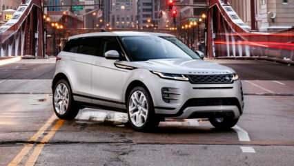 2020 Range Rover Evoque'ye ilk ödül!