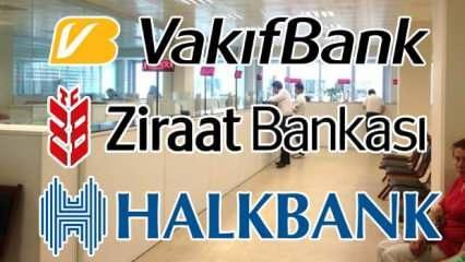2020 Ziraat Bankası Vakıfbank Halkbank çalışma saatleri: bankalar kaçta açılıp kaçta kapanıyor?
