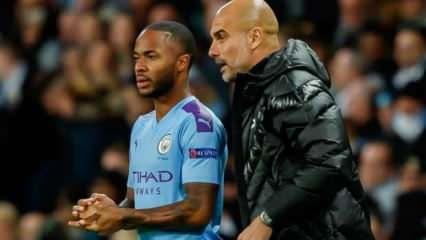 Sterling ve Guardiola'dan Manchester City kararı!